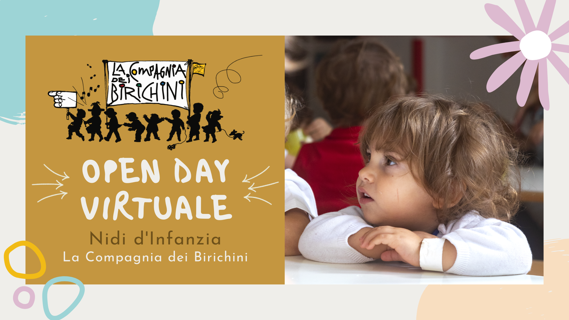 open day virtuali nidi la compagnia dei birichini